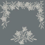 Lace. Card. Lily Garland. Stock Images
