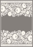Lace. Card. Royalty Free Stock Image