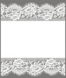 Lace Card. Royalty Free Stock Image