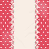 Lace centre panel border background Royalty Free Stock Images