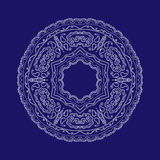 Lace circular pattern. Vector image Royalty Free Stock Image