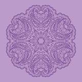 Lace circular pattern Royalty Free Stock Image