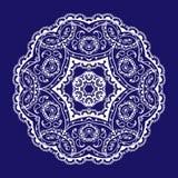 Lace circular pattern. Vector image Stock Illustration