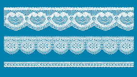 Lace. Contains transparent objects. EPS10 Royalty Free Stock Photos
