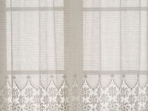 Lace curtain Royalty Free Stock Images