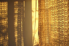 Lace Curtains Stock Images