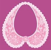 Lace detachable collar-necklace. Stock Photo