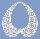 Lace detachable collar-necklace. Stock Images