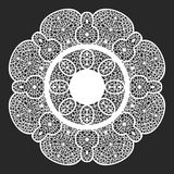 Lace doilies Royalty Free Stock Photography