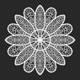 Lace doilies Royalty Free Stock Images