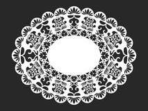 Lace doily Royalty Free Stock Photography