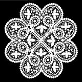 Lace doily royalty free illustration