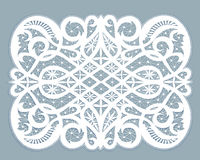 Lace doily Stock Image