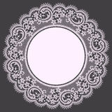 Lace. Doily. Stock Photography