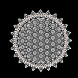 Lace doily Stock Photography