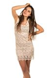 Lace dress Royalty Free Stock Photography