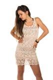 Lace dress Royalty Free Stock Photo