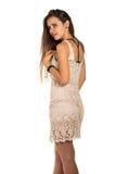 Lace dress Royalty Free Stock Image