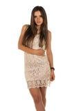 Lace dress Stock Photo