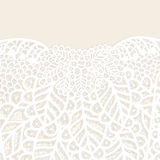 Lace elegant background. Lace floral background for a greeting card or invitation Stock Image
