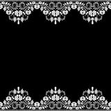 Lace fabric background Stock Photography
