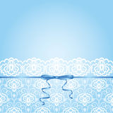 Lace fabric background Royalty Free Stock Photography