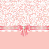 Lace fabric background Royalty Free Stock Photo