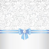 Lace fabric background Stock Image