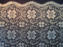 Lace fabric stock images