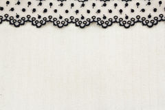 Lace Fabric frame Stock Image