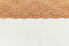 Lace Fabric frame Royalty Free Stock Images