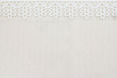 Lace Fabric frame Royalty Free Stock Photography
