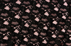 Lace fabric Stock Photography