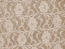 Lace fabric texture. Floral lace fabric texture suitable as background royalty free stock image