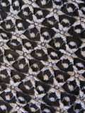 Lace fabric texture Stock Image