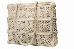 Lace female Hand Bag Royalty Free Stock Photography