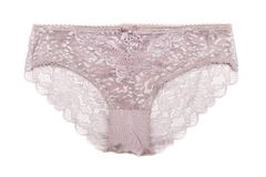 Openwork women`s panties. Isolated on white background Royalty Free Stock Photo