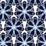 Lace floral colorful ethnic ornament Stock Photography