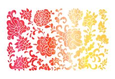 Lace floral composition Royalty Free Stock Image
