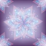 Lace floral decorative background Stock Photo
