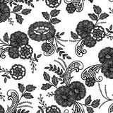 Lace floral flower Royalty Free Stock Photo