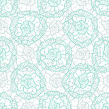 Lace floral pattern. Vector fashion fabric textile swatch. Illustration for wrapping paper, packaging design and decoration.  Royalty Free Stock Images