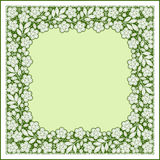 Lace. Floral Pattern. Royalty Free Stock Image