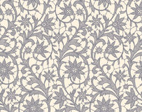 Lace. Floral Seamless Pattern. Royalty Free Stock Image