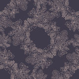 Lace flowers background Stock Photo