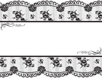 Lace frame royalty free illustration