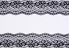 Lace frame Stock Photos