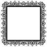 Lace frame Royalty Free Stock Image