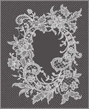 Lace Frame. Royalty Free Stock Images