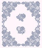 Lace Frame. Clip Art. Stock Image